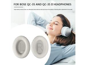 Foam Headphone Ear Pads Protein Leather Headset Replacement Ear Cushions Portable Entertainment Earphone Supplies