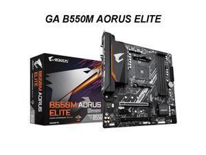 GA B550M AORUS ELITE Micro-ATX  B550 DDR4 4000(OC)MHz M.2 USB3.2  128G Double Channel Socket AM4 Motherboard Desktop AM4