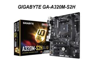 GA A320M S2H GA-A320M-S2H AM4  A320 SATA 6Gb/s USB 3.1 HDMI Micro ATX  Motherboard