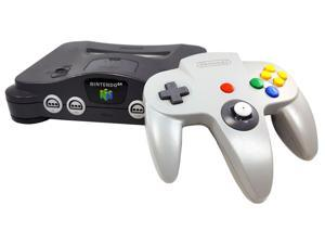 Nintendo 64 N64 Video Game Console with Matching Controller and Cables
