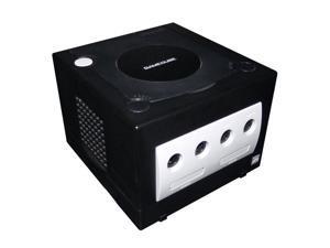Nintendo GameCube Game Console Jet Black Controller AV Power Cables