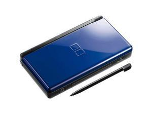 Nintendo DS Lite Cobalt Black Video Game Console with Stylus and Charger