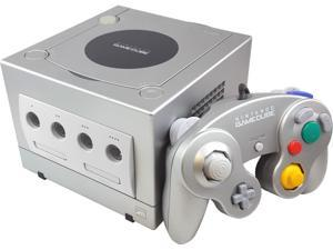 Gamecube Console Platinum with Controller and 251 Block Memory Card