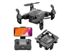 4K HD Mini Foldable RC Drone WiFi Real Time Quadcopter 360 Degree Flip Rolling Aerial Photography Helicopter Phone Control Drone