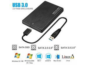 USB 3.0 2TB SATA SSD External Hard Drive Portable Desktop Mobile Hard Disk TP