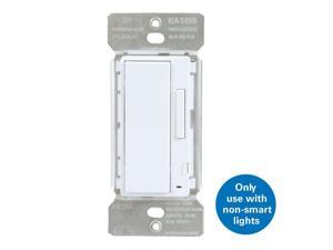 Halo HIWMA1BLE40AWH Home, White Smart Wall Dimmer