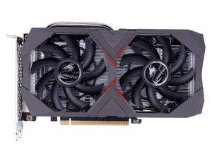 GeForce GTX 1660 Super Video Card Overclocked 6GB Dual-fan Edition HDMI DP DVI Graphics Card Removed From a New Computer Case Colorful