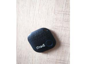 2021 ITRACE Smart Tracker Easy Key Finder Track Locations of Kids, Car, Keys, Pet, Wallet, Luggage, and More -Bluetooth with Camera Remote - Black