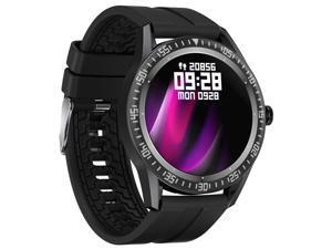 SN70 Smart Watch 1.28 Inch Round Screen Bluetooth Call IP67 Waterproof Smart watch, Heart Rate Supervise Blood Pressure Watch 24/7 Fitness Monitor Wristband, Men Women Fitness Tracker Wristband