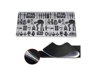 Newest Star Wars Pad mouse pad Notbook Computer mat 40x90cm Locking Edge Gaming Mouse pads 30x90cm 30x80cm