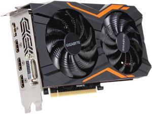 GIGABYTE GeForce GTX 1050 Ti 4GB GDDR5 PCI Express 3.0 x16 ATX Video Card GV-N105TG1 GAMING-4GD Video Card