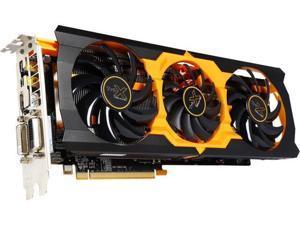 SAPPHIRE Radeon R9 280X 100363-4L 3GB 384-Bit GDDR5 PCI Express 3.0 CrossFireX Support Video Card Tri-X OC version - Certified