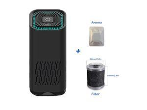 Giant Base Air Purifier for Car & Home Allergies and Pets Hair Smokers in Bedroom HEPA Filter, 24db Filtration System Cleaner Odor Eliminators, Remove Smoke Dust Mold Pollen