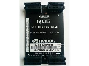 ASUS ROG SLI HB Bridge (for 1080/1070 cards) 2 Slot/ 6cm for Nvidia Graphics Card