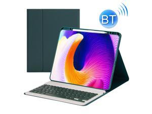HK132 Detachable Plastic Bluetooth Keyboard Protective Case with Holder & Pen Slot For iPad Pro 12.9 inch 2021 / 2020 / 2018