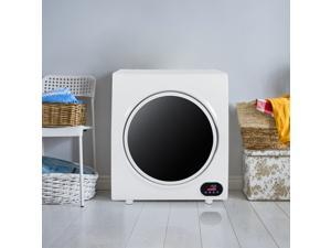 110V 1400W 4KG Portable Household LED Touch Screen Compact Laundry Tumble Clothes Dryer, US Plug
