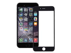 Front Screen Outer Glass Lens with Front LCD Screen Bezel Frame & OCA Optically Clear Adhesive for iPhone 6 Plus