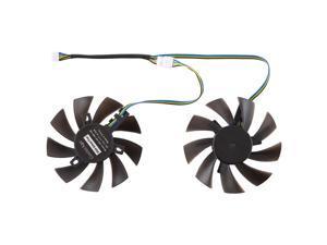 GFY09010E12SPA 4 Pin Graphics Card Cooling Fan for Zotac GTX 1070 Mini GTX 1060 6GB GTX1060, Diameter: 85mm, Pairs