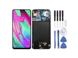 Original LCD Screen and Digitizer Full Assembly with Frame for Galaxy A50 SM-A505F