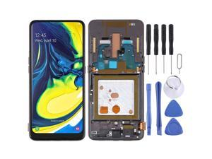 TFT Material LCD Screen and Digitizer Full Assembly with Frame for Samsung Galaxy A80