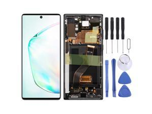 Original LCD Screen and Digitizer Full Assembly With Frame for Samsung Galaxy Note10+ SM-N975