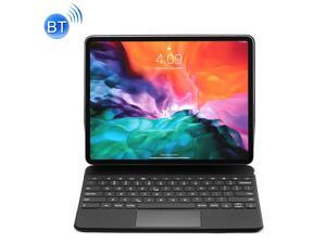 P129 Pro Ultra-thin Detachable Bluetooth Keyboard Leather Case with Touchpad & White Backlight for iPad Pro 12.9 inch 2021 / 2020 / 2018 / 2017