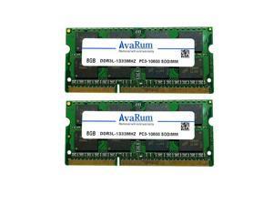 "Avarum 16GB Kit (2x8GB) DDR3L 1333MHz RAM for Apple MacBook Pro (Early/Late 2011), iMac (Mid 2010 27"", Mid 2011 21.5""/27""), Mac Mini (Mid 2011) | PC3-10600 SODIMM 204-Pin Memory Upgrade"