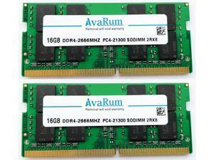 Avarum 32GB Kit (2x16GB) DDR4 2666MHz SODIMM 2Rx8 1.2V RAM for Apple 2019 & 2020 iMac 27 inch (iMac19,1 iMac20,1 iMac20,2), 2018 Mac Mini | PC4-21300 SO-DIMM 260-Pin Memory Upgrade
