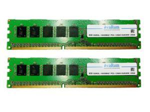 16GB Kit (2X8GB) DDR3L 1600MHz (PC3L 12800) ECC Unbuffered Memory For Dell PowerEdge C5220 by Avarum RAM
