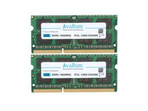 Avarum Ram 8GB Kit (2 x 4GB) DDR3L-1600 SODIMM 2Rx8 Memory for ASUS Laptops