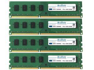 32GB (4 x 8GB) DDR3L 1600 (PC3L-12800) Desktop Memory Module by Avarum Ram