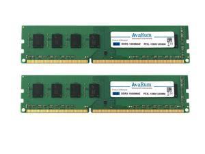 16GB (2x8GB) DDR3L 1600Mhz (PC3L-12800) Desktop Memory Module by Avarum Ram