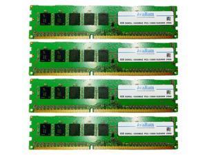 32GB Kit (4X8GB) DDR3L 1600 PC3L-12800 2Rx8 ECC Unbuffered EUDIMM Memory by Avarum RAM