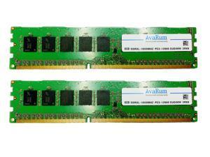 16GB Kit (2X8GB) DDR3L 1600 PC3L-12800 2Rx8 ECC Unbuffered EUDIMM Memory by Avarum RAM