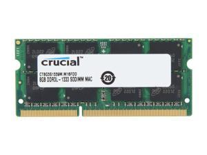 Crucial 8GB DDR3 1333 (PC3 10600) Memory for Apple Mac CT8G3S1339M