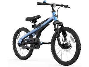 Blue Segway Ninebot Kids Bike for Boys and Girls 18 inch with Kickstand