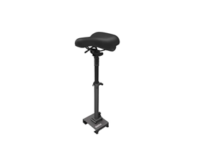 Segway Ninebot Electric Scooter Seat Saddle for MAX G30P and G30LP, Adjustable Comfortable and Shock Absorbing MAX Seat Saddle, Black, Large