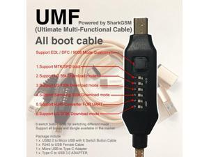UMF cable ( Ultimate Multi-Functional Cable ) All boot cable  TYPE C Micro USB RJ45 Adapter All in One