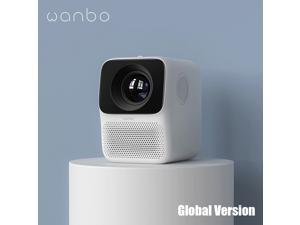 Global Version Wanbo T2M Projector 1080P HD LCD Projection Vertical Keystone Correction Support U-disk Mini Home Theater