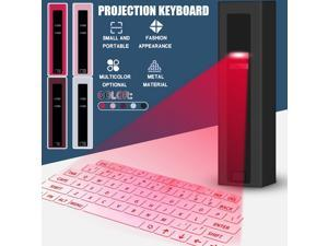 Virtual Wireless Bluetooth Portable Projection Keyboard For Smart Phone Pc Table Portable Office Entertainment Mute Accessories