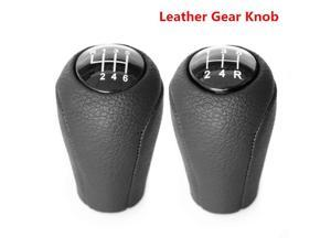 Suitable for MAZDA shift handball gear lever leather shift knob, 5/6 speed car lever dust cover