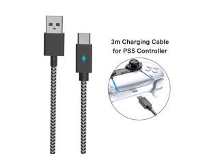 3m Charging Data Cable for Sony PS5 Charging Cable Controller Data Games Handles Charger Cable for Sony PS5 Game Accessories