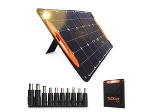 TACKLIFE Sp100-Solar Generator, 100W Solar Panel, Portable Car Rv High-Power Electrical Power Supply