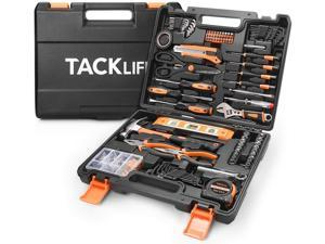 TACKLIFE HHK6A-144 Home Repair Tool Set, General Household Too Kit with Sturdy Storage Case