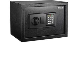 TACKLIFE HES25A-Safe Box 0.5 Cubic Feet Digital Lock Box with Instruction Light for Money Safe Cash Jewelry Passport Gun Security