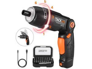 TACKLIFE SDH13DC-Electric Screwdriver 3.6V Cordless Rechargeable Screwdriver