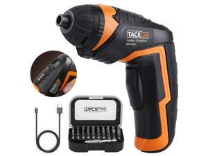 TACKLIFE Cordless Screwdriver Electric Rechargeable Screwdriver- SDP50DC