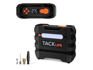 TACKLIFE A6 Tire Inflator, 12V DC Air Compressor, 3 Modes LED Lights  Car Tire Inflator Portable Air Compressor