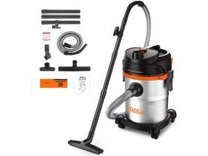 TACKLIFE PVC05B 6 Gal Stainless Shop Vac,1200 W Multi-Functional Shop Vacuum, 6 Peak HP with Powerful Suction, 3 in 1 Shop Vac, Suitable for Garage, Workshop, Hard Floor, Sofa-PVC05B