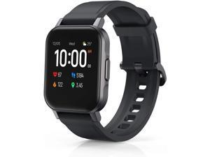 AUKEY LS02 Smartwatch Fitness Tracker 12 Activity Modes IPX6 Waterproof Black - LS02